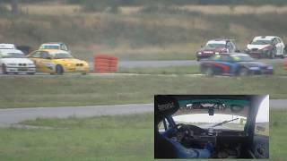 Смотреть видео Авария в 1 гонке, 1 круг. СКГ СПБ, класс S3000, 5 этап, сезон 2018 онлайн