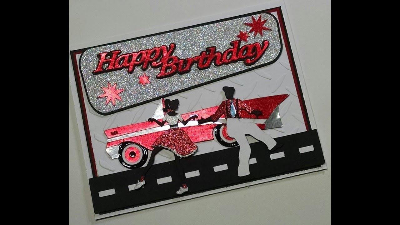 Cricut Card Making Ideas Youtube Part - 19: 2015 Masculine Happy Birthday Card