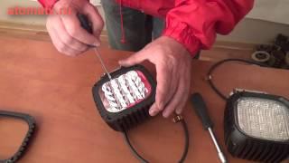 Светодиодные фары для квадроциклов серии AL(Мощные светодиодные фары для квадроциклов., 2013-11-30T23:13:46.000Z)