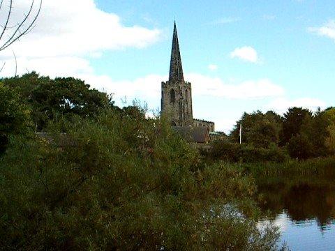 Church bell tower, Attenborough Village, Nottingham