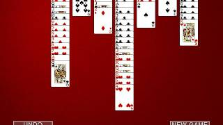 Hoyle Card Games 2002: Solitaire - Scorpion