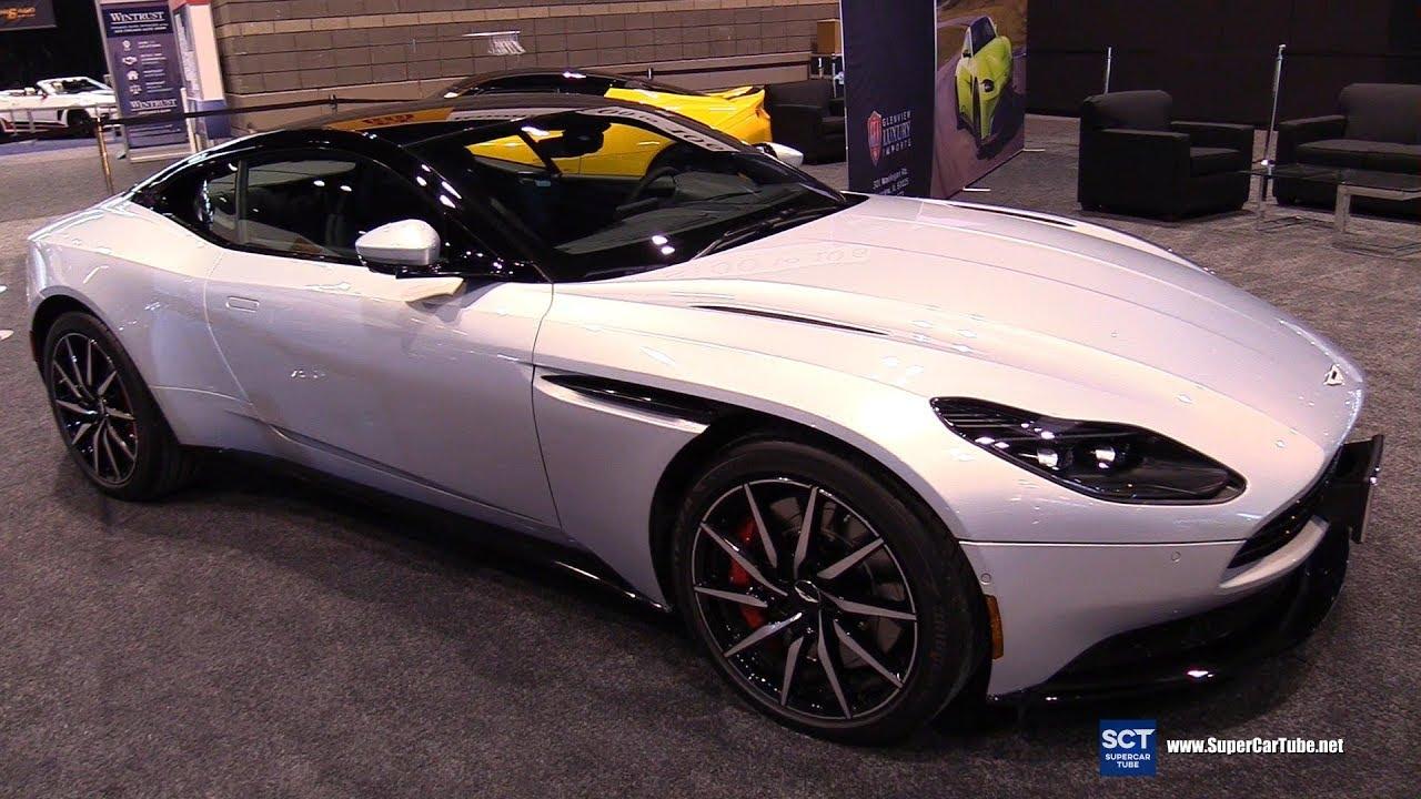 Aston Martin DB Exterior Walkaround Chicago Auto Show - Aston martin chicago