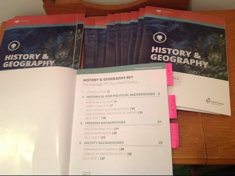 Review LifePac History & Geography gr 9