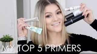 My Top 5 | Face Primers ♡
