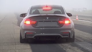 740HP BMW M4 F82 RRahmani Stage 3 - Revs, Top Speed Accelerations & Drag Race!