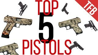 The Top 5 Pistols of All Time: Autoloaders
