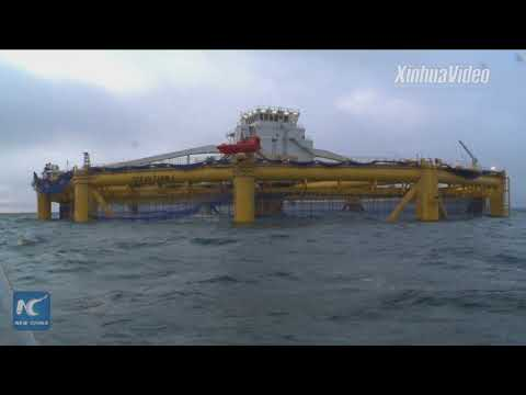 Built By China! World's First Offshore Fish Farm In Norway