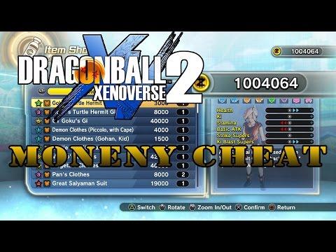 DRAGON BALL XENOVERSE 2 ZENI MONEY CHEAT