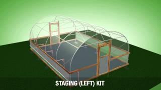 14ft (4.27m) Wide Polytunnel Overview - VT14