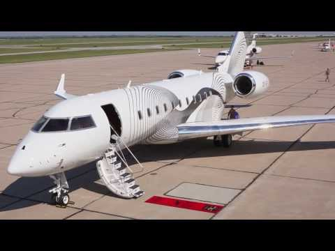 Time Lapse: Global 5000 Custom Paint Job