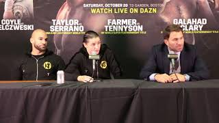 The Full Katie Taylor vs Cindy Serrano post fight press conference