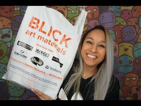 Blick Haul 2019 NEW ART SUPPLIES DISCOVERY!!