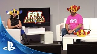 PlayStation Experience 2015: Fat Princess Adventures - LiveCast Coverage | PS4