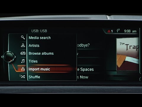 Import Music From A USB Drive | BMW Genius How-To
