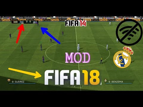 FIFA 18 MOD for FIFA 14  Android