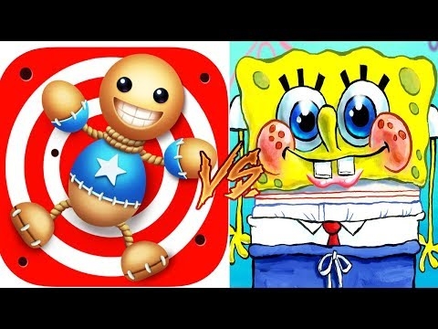 Kick The Buddy Vs Spongebob Game Frenzy - Funny Trolling Gameplay Video