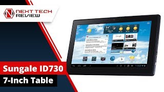 What's so Great about it?  The Sungale ID730 7 Inch Tablet  - NTR