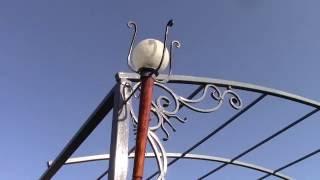 Светильник своими руками.Художественная ковка.(В этом видео показано как можно своими руками сделать уличный светильник.Используя навыки кузнеца можно..., 2016-05-21T10:13:33.000Z)