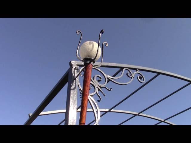 Светильник своими руками – художественная ковка