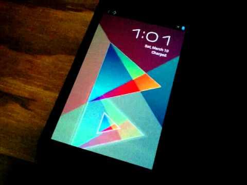 ICS lockscreen mod : Google Play logo