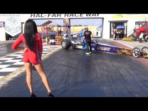 Drag Racing at Hal Far