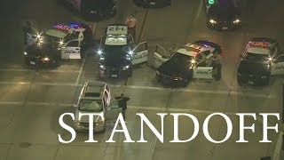 South Gate Police Standoff With Reckless Driver - Sept 16th 2017