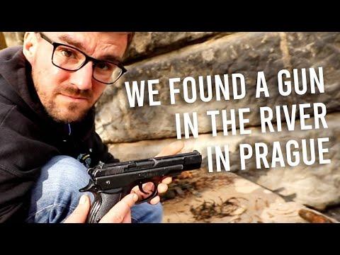 We found a GUN in the river in PRAGUE (Honest Guide)