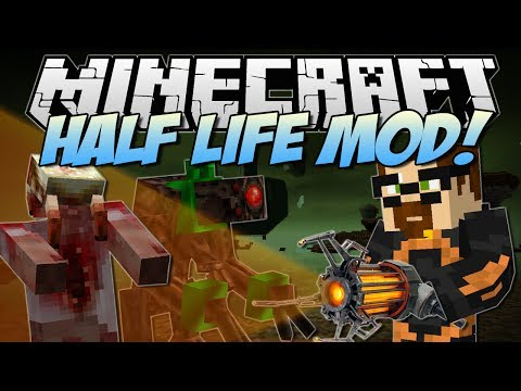 Minecraft   HALF LIFE MOD! (Super Awesome Weapons & Half Life 3 Confirmed?!)   Mod Showcase