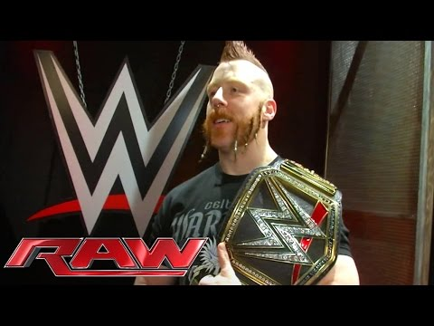 Sheamus' Seitenplatten Am WWE World Heavyweight Championtitel Werden Angebracht – 30. November 2015