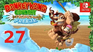 Donkey Kong Country Tropical Freeze #27 - 4. K-Level - Walzenwahnsinn [Switch | Not Blind | 100%]