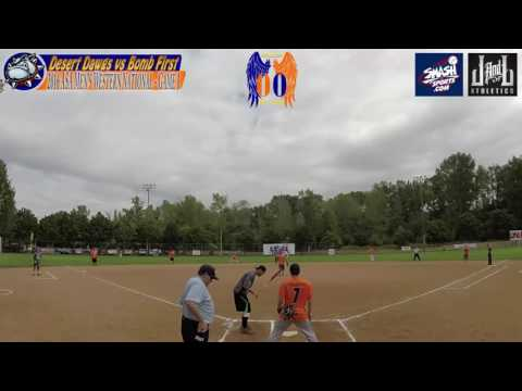 Desert Dawgs vs Bomb First - 2016 ASA Slow Pitch Men's Western National (Game 1)