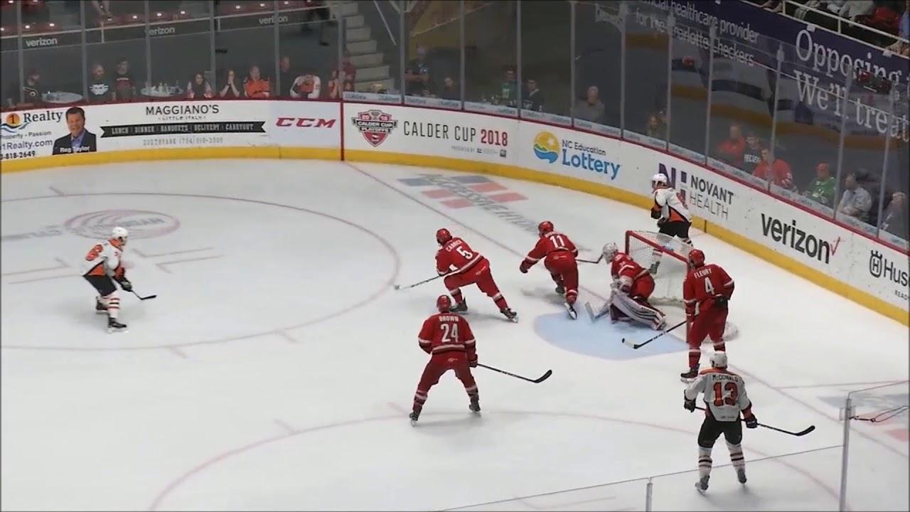 where does alex lyon s 94 save performance rank in hockey history prohockeytalk [ 1280 x 720 Pixel ]