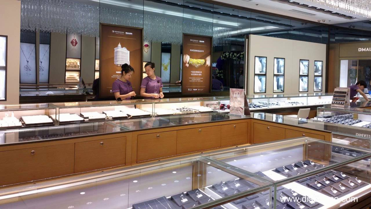 jewelry store interior design and Jewelry Showcases Supplier