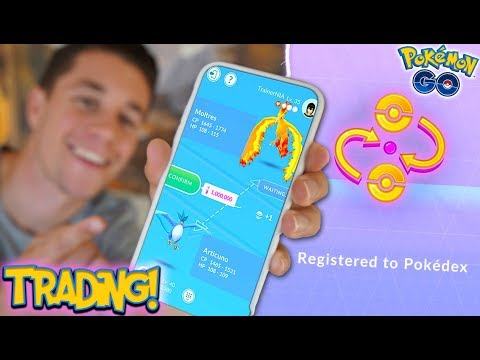 THE *TRADING UPDATE* IN POKÉMON GO! (How To TRADE in Pokémon Go)