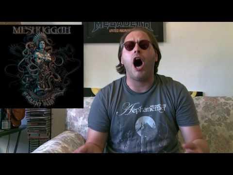 Meshuggah - THE VIOLENT SLEEP OF REASON Album Review