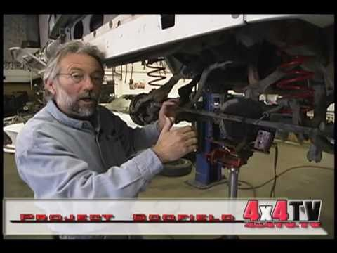 Installing Front Bumper on Jeep Cherokee - 4x4TV Project part 7 of 9
