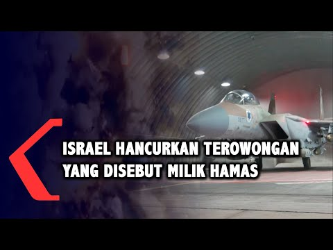 Israel Hancurkan Terowongan Yang Disebut Milik Militan Hamas