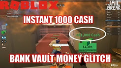 Roblox Jailbreak Bank Vault Glitch 1000 Money Instantly - roblox jailbreak bank vault