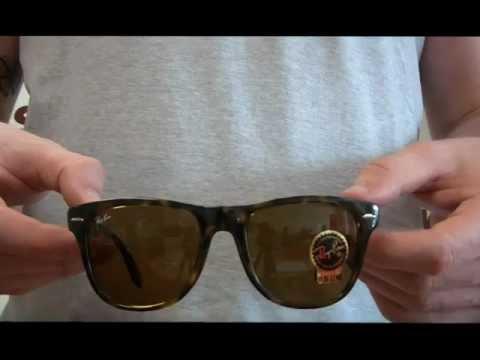 Ray Ban Folding Wayfarer Sunglasses Review - RB4105 710