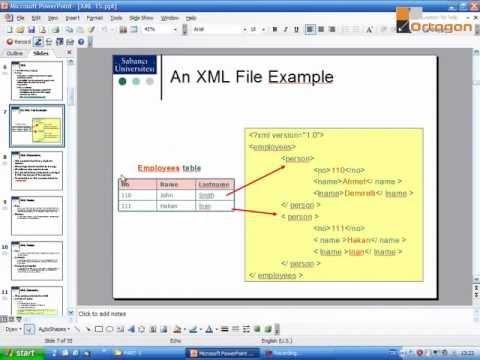 XML Ders1: XML Giriş (Ortogon)