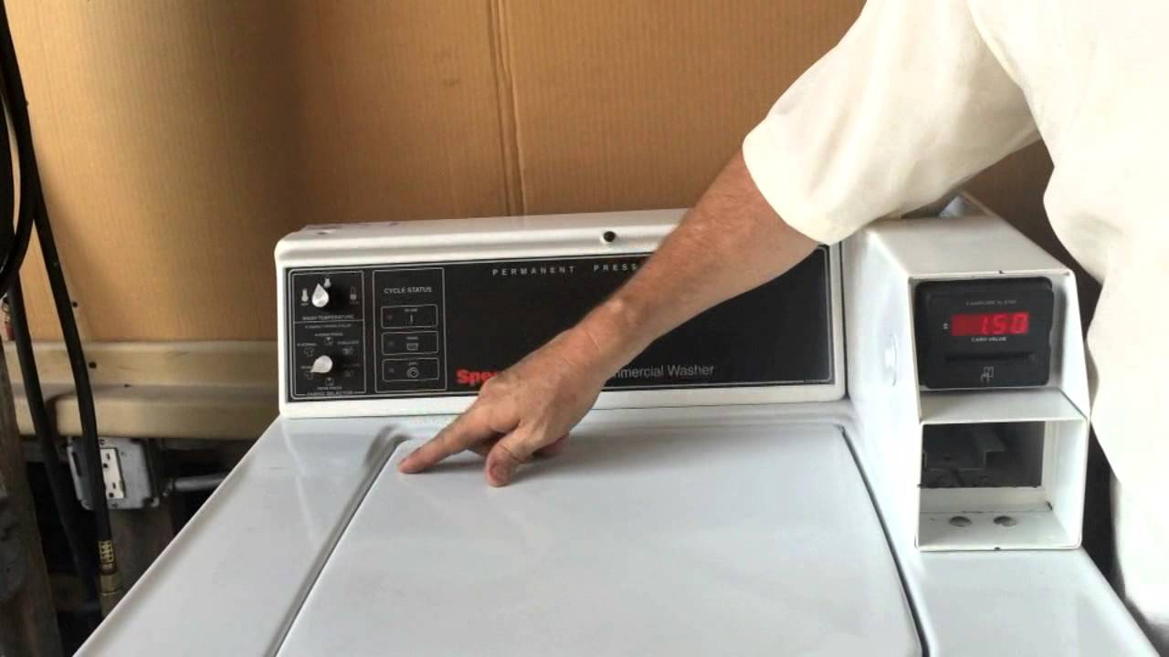 How to Use a Washer Machine with an ESD Card Reader
