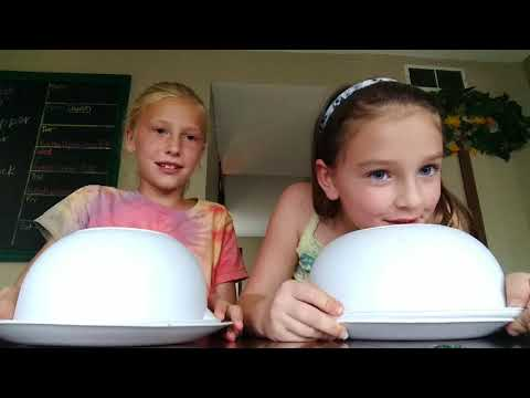Ava and Mallory food challenge(2)