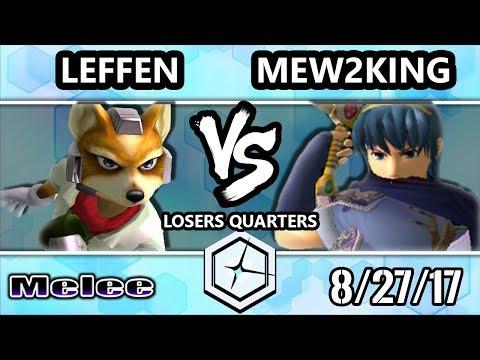 Shine 2017 SSBM - TSM   Leffen (Fox) vs FOX MVG   Mew2king (Marth) - Melee LQ