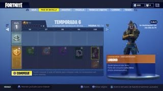 SKIN LEGENDARY LOBUNO SEASON 6 FORTNITE