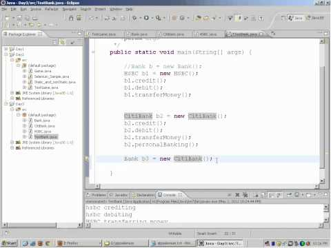Selenium Webdriver Training - Day 3 - Selenium  Webdriver Tutorial- Interfaces in Selenium Webdriver