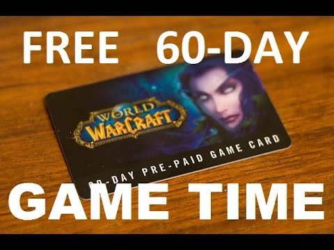 How to get Free Prepaid Subscription Cards for World of Warcraft-2016