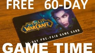 How to get Free Prepaid Subscription Cards for World of Warcraft-2016 thumbnail