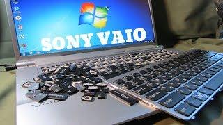 Клавіатура SONY VAIO. Як вибрати замінити, що всередині.