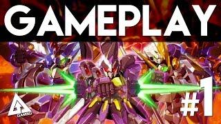 Little Battlers eXperience 3DS Gameplay Part 1 (LBX)