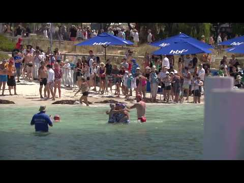 2014 HBF Rottnest Channel Swim Highlights